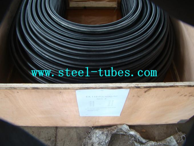 U Bend Tube A 556 / 556M Cold Drawn Carbon Feedwater Heater Black Seamless Steel Pipe
