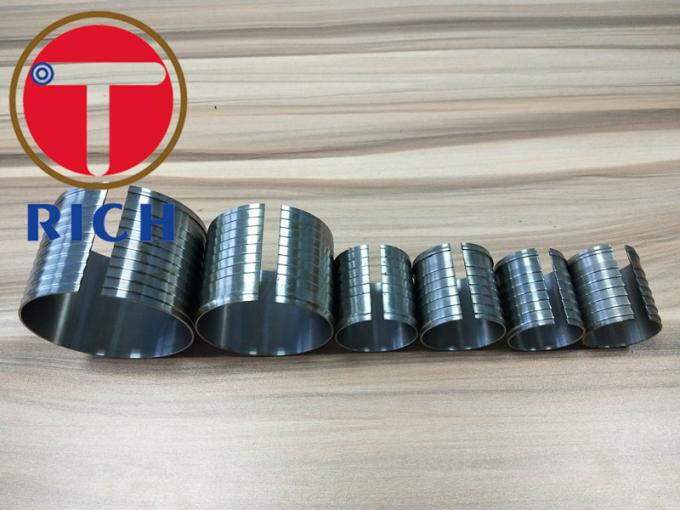 Machinery Parts Cnc Micro Tube Machining Oiled Surface For Mechanical Equipment