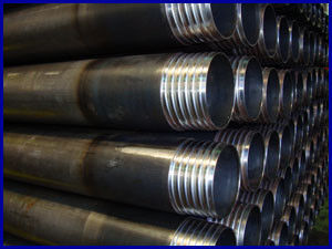 Round Shape Drilling Steel Pipe / Seamless Steel Tube Length 4m - 12.5m