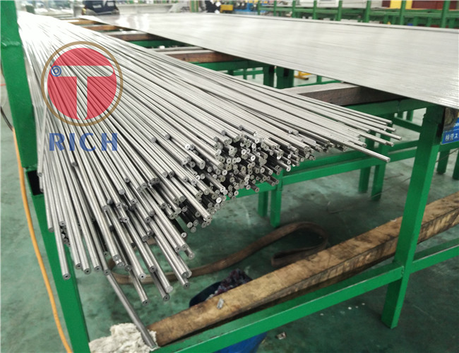 Auto Industry Precision Stainless Tubing En10305-2 Seamless Cold Drawn