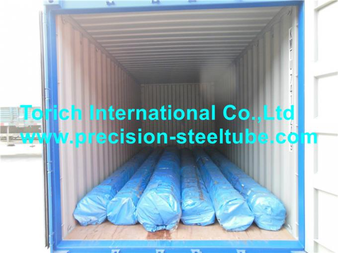 Seamless Alloy Steel Tubing , Hot Rolled Steel Pipe 4140 / 4130 / 4140 / 42CrMo