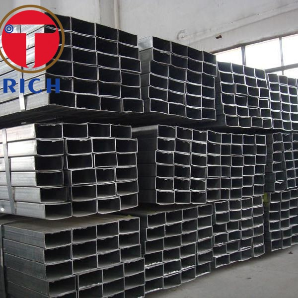 Black Painted Cold Drawn Seamless Pipe , Stainless Steel Welded Tube