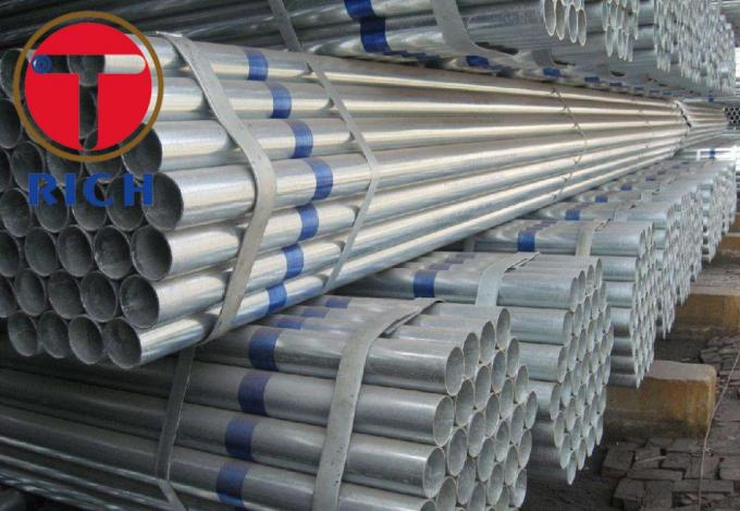 API 5CT Hot Dipped GI Seamless Welded Pipe Mild Steel For Construction