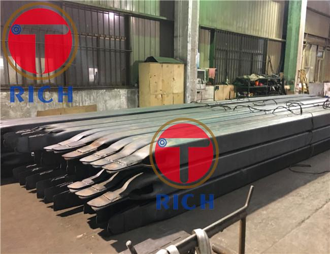 Rectangular seamless structural tube