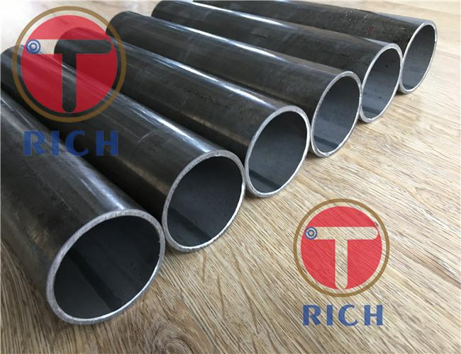 Black Coated Cold Drawn Carbon Steel Heat Exchanger Tubes 6 - 760 mm Outer Dia