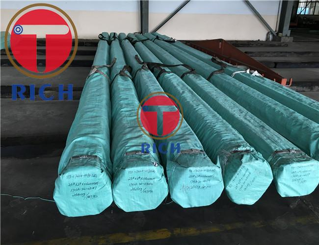 Hot Rolled Seamless Steel Tube For Hydraulic Pillar Service , Ss Seamless Pipe No Burr