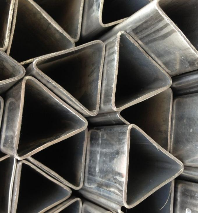 Custom Mechanical Special Steel Pipe Seamless Triangle Steel Tubes ST35 ST37 ST44
