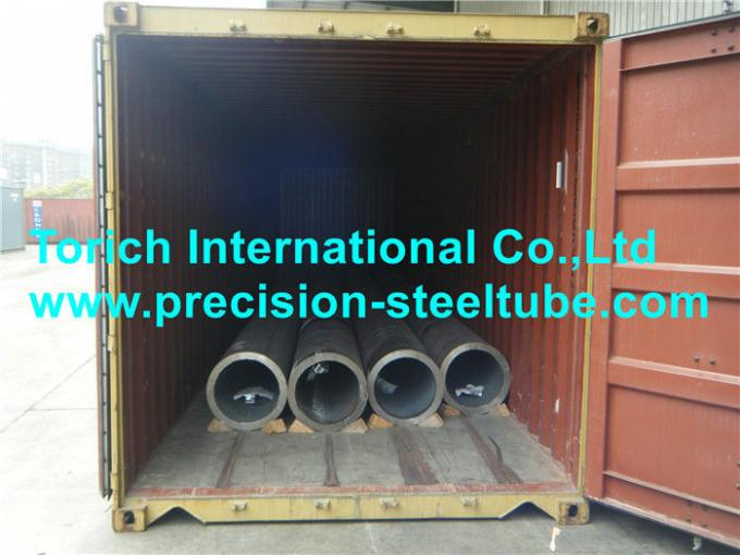 Seamless Round Structural Steel Tubing EN10216-1 1-30mm Wall Thickness