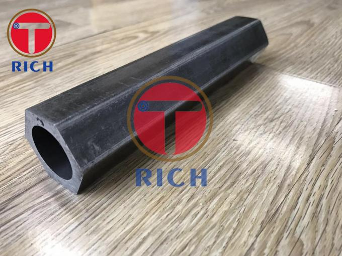 1045 1020 Outer Hexagonal Inner Round Shaped Cold Drawn Steel Pipes