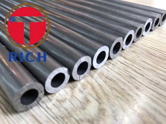Non - Alloy Precision Steel Tube Steel Hydraulic Pipe 2-30 Mm Thickness