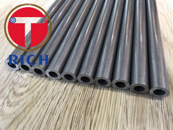 Chrome Plated Seamless Steel Tube , Steel Hydraulic Tubing 0.5mm~18mm WT