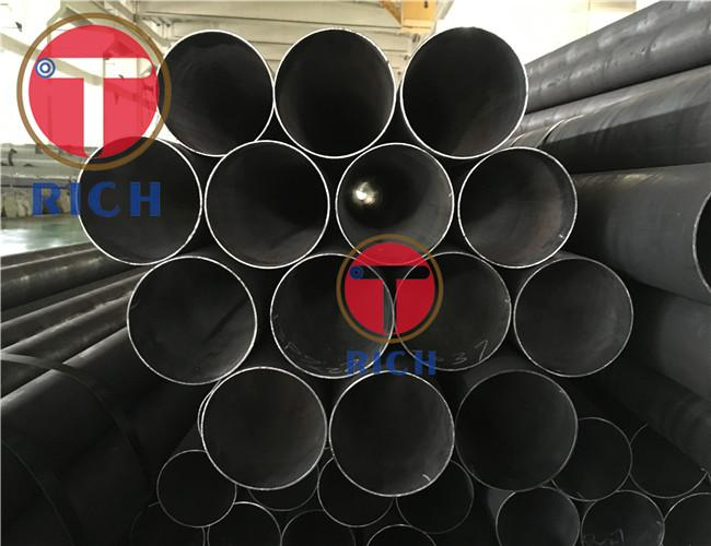 GB/T 8162 1020 Cold Drawn Steel Pipe / Thin Wall Seamless Steel Tube