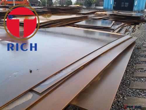 ERS AH36 DH36 EH36 Special Steel Pipe For Vessel Building Customized Thickness