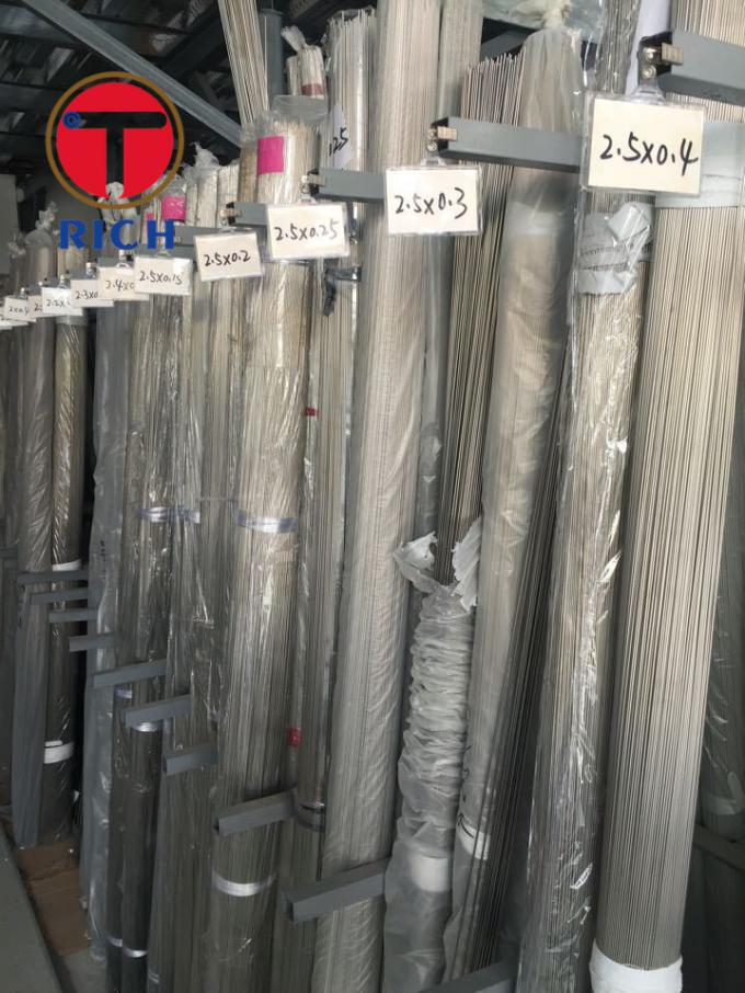 316L Precision Instruments Seamless Stainless Steel Tubing ISO Approval