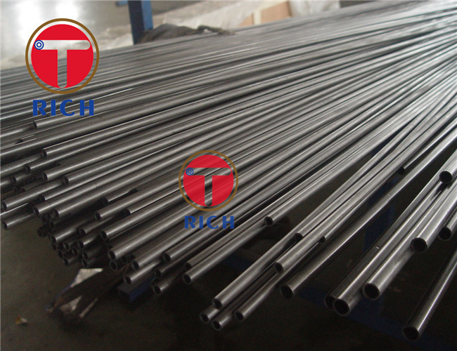 Precision Seamless Steel Pipe Hydraulic Cylinder Tubes EN10305-2 E235 E355