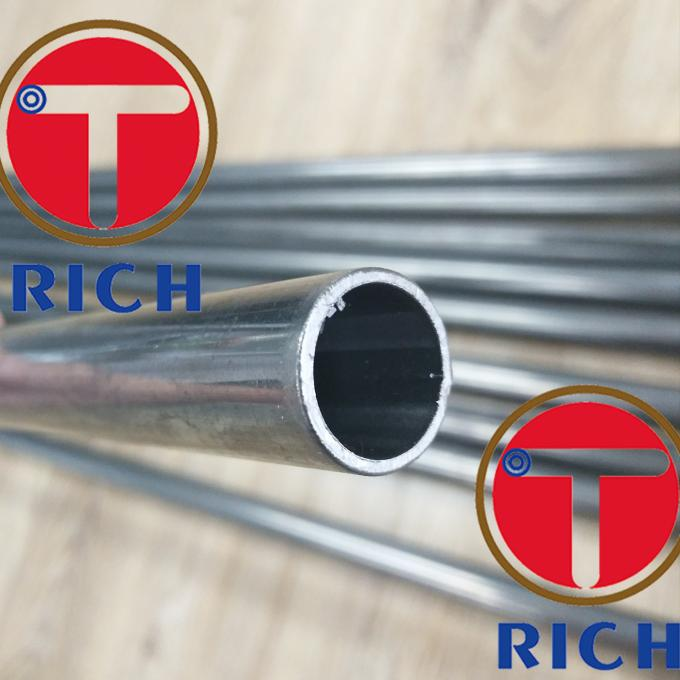 Precision Low Carbon Steel Heat Exchanger Tubes ASTM A178 Welded For Boiler Pipe