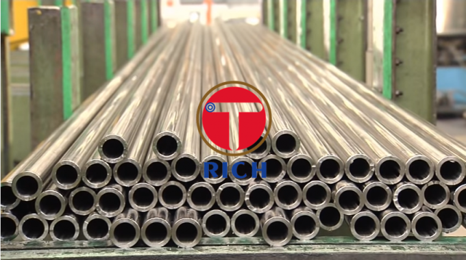 Nickel - Chromium - Iron based Inconel Tube Inconel600 TS 640MPA High Plasticity