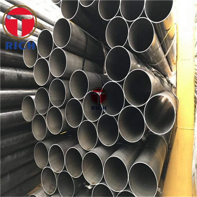 DOM Carbon Steel Cold Drawn Welded Tube 2 - 12m Length High Precision
