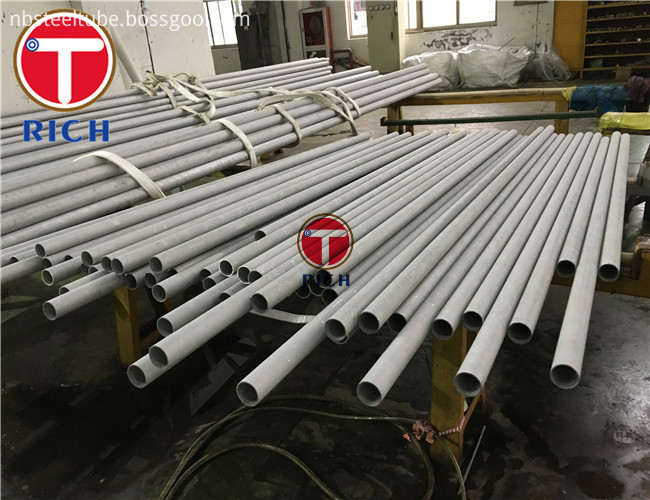 304 Stainless Steel Welded Pipe High Precision ASTM A213 ASTM A269