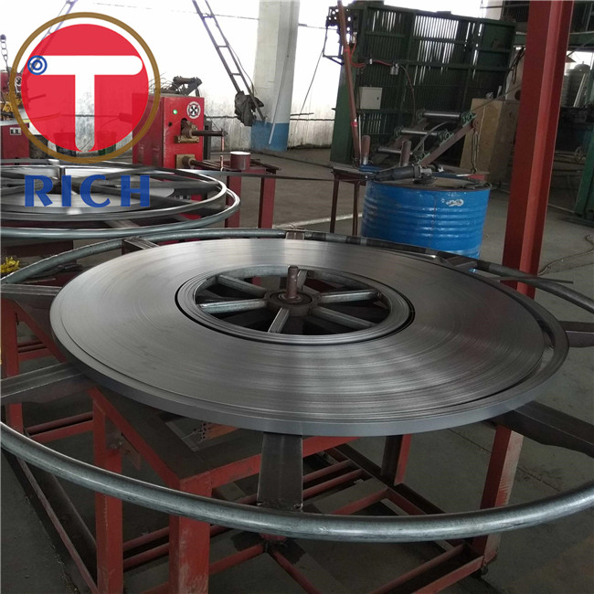 Brake System Automotive Steel Pipe Welded 0.5-2mm Thickness ASTM Standard
