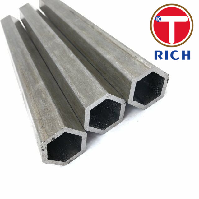 Hexagonal Shape Seamless Cold Drawn Steel Tube / Seamless Pipes And Tubes
