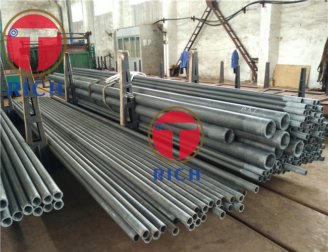 Cold Drawn Alloy Steel Pipe ASTM A335 12.7 - 177.8mm OD 4 - 12.5m Length