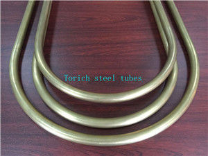China C68700 C71500  Alloy U Bend Tubes ASTM B111 Cold Drawn Seamless Copper distributor