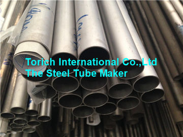 China Titanium Welded Seamless Alloy Steel Pipe TA3 TA9 TA10 0.5 - 2mm Wall Thickness factory