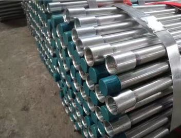 China Galvanized DIN 2440 EN10255 Threaded Welded Seamless Steel Pipe For Transportations factory