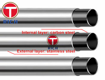 China GB/T 18704 TORICH Round Stainless Steel Clad Pipes For Structural Purposes factory