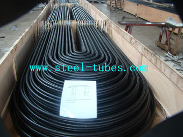 China U Bend Tube A 556 / 556M Cold Drawn Carbon Feedwater Heater Black Seamless Steel Pipe distributor