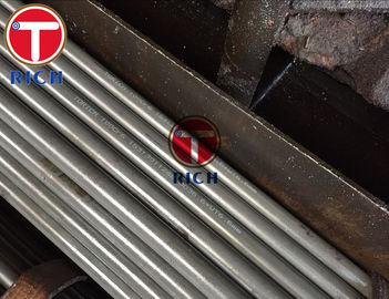 China GCr15 100Cr6 Seamless Steel Tube , Precision Cold Rolled Steel Tube For Auto Parts factory