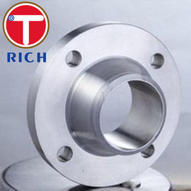 China Forged Tube Machining Weld Neck Flange For Machinery Parts ANSI B16.5 DN15 - DN1200 distributor
