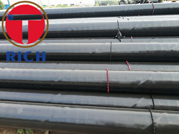 China Spiral Double Submerged Arc Welded Steel Pipe Pe Coating For Petroleum Industry factory