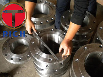China Chemical Industry Tube Machining Stainless Steel Flange Astm A105  Dn10 - Dn800 distributor