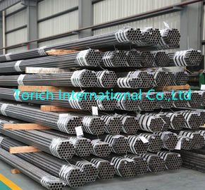 China Carbon Steel Heat Exchanger Tubes Seamless Steel Tube Round Shape For Boiler / Heat Exchanger factory