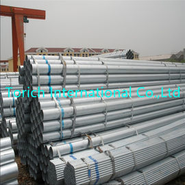 China Hot Dip Galvanized Welded Steel Tube Round Shape With Od 12.7 - 609.6mm factory