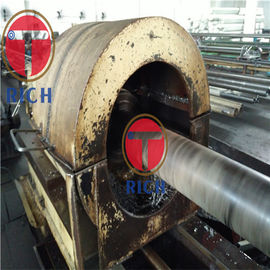 China Astm A106 Seamless Metal Tubes , Black Painted Carbon Seamless Steel Pipe factory