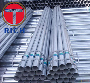 China BS 1387 Q195 GI SS400 Welded Steel Tube Round Shape Galvanised Steel Tube factory