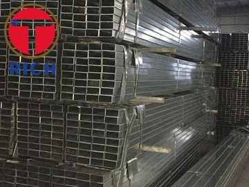 China ASTM A179 A106 Galvanized Steel Square Tube GI Hollow Section Pipe for Construction factory