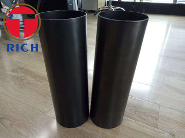 China Small Diameter Welded Steel Tube Thick Wall Q195 ERW Black Steel Pipe For Shock Absorber factory
