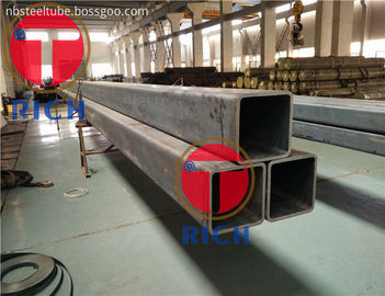 China Cold Drawn Structural Steel Tubing Seamless Low Alloy Square / Rectangular Shape factory