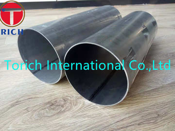 China Round Aluminized Welded Carbon Steel Tube OD 127mm WT 1.5mm For Automotive Parts factory