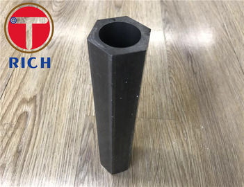 China 3000-6000mm Cold Drawn Special Steel Pipe , Hexagonal Steel Tube For Machining distributor