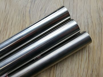 China Decorative 304 Stainless Steel Tube ASTM A554 Mirror Finished 300 Series factory