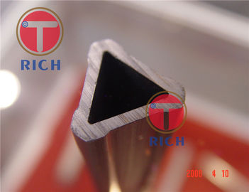 China Steel Grade Structural Steel Pipe , Special Triangle Steel Tube For Furniture factory