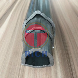 China DIN 2391 Carbon Seamless Special Steel Pipe Triangle Shape For Machineries factory