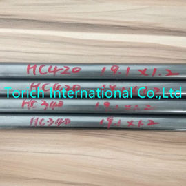China Customized Length Welded Steel Pipe HC340 HC420 10-50mm OD For Automobile Parts factory