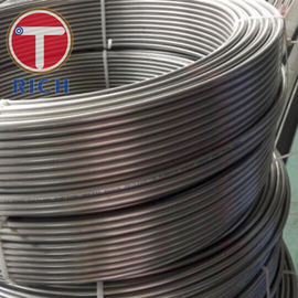 China Precision Single Welded Steel Tube GB/T24187 BHG1 For Condenser TS16949 Certificate factory