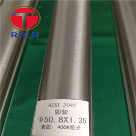 China Stainless Steel Welded Precision Steel Tube 100% PMI Mirror Polishing factory